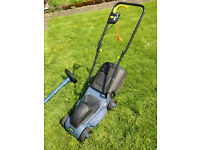 Lawnmower £15 and grass trimmer £5. Electric.