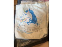 Unicorn Shopping Bags