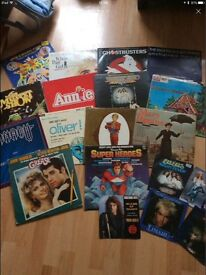Movie sound track records LPs