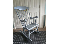 Lovely, shabby chic rocking chair