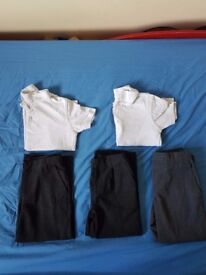 Bundle of boy school clothes- George- 4-5