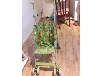 Stroller It is very good condition and its comfortable and very strong.
