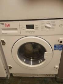 Beko 6.5kg integrated Washing Machine