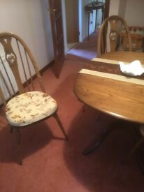 Dining table and 4 chairs for sale £200