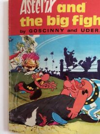 Retro copy of Asterix and The Big Fight