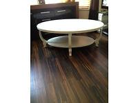 Large vintage coffee table.
