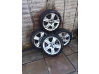 17inch mini wheels and tyres (run flats)
