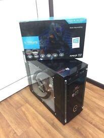 Gaming Computer PC (intel i3, 16GB RAM, 60GB SSD, 1TB HD, R9 280X)