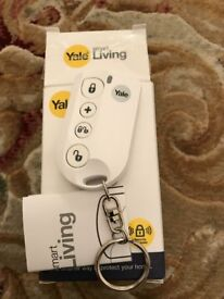 Yale Smart Living alarm Key thob remote, instructions and box