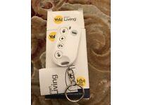 Yale Smart Living alarm Key thob remote, instructions and box