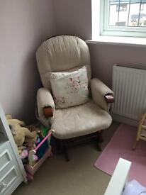 Nursing chair rocking chair