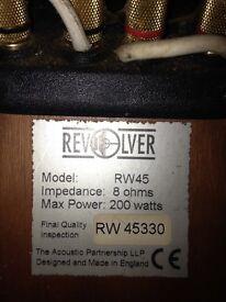 Revolver RW45 speakers for sale.
