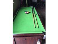 Pool & air hockey table