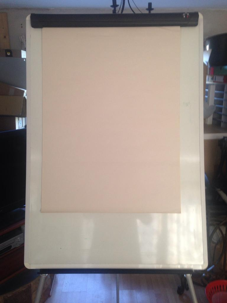 Whiteboard / Paper Easel Office, Home or Business use   in ...