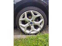 "18"" Ford ST alloys brand new tyres!"