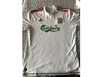 Liverpool fc away top L size