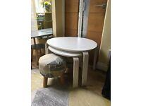 IKEA Svalsta Nest of Tables (plus Stools)