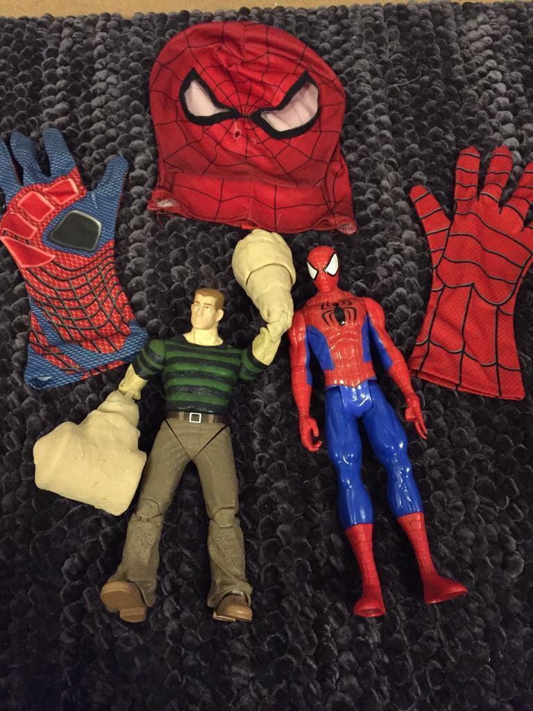 Spider-Man and sandman
