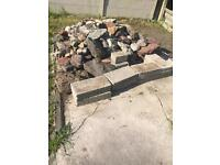 Stones from rockery - free to collector