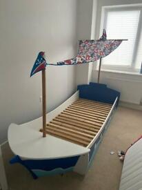 Next, pirate, boat bed - boys