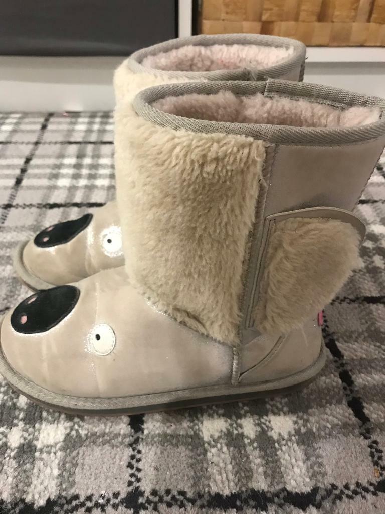 8b20a9d383b Size 2 uk emu boots uggs koala sheepskin winter | in Castlereagh ...