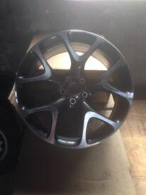 VXR Vauxhall 20in Alloy - Diamond Cut Immaculate Wheels.