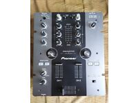 Pioneer DJM-250 2 Channel Mixer with power brick