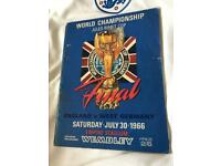 World Cup Final Programme -England v West Germany 1966