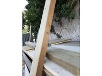 Used timber joists