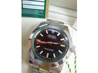Rolex milgauss oyster perpetual watch