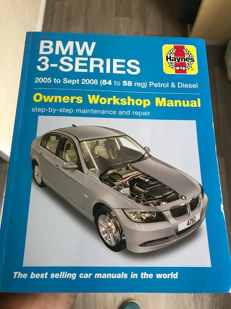 BMW 3 series e90 Haynes manual new