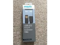 Maplin USB 2.0 A to A Extension 1.5m