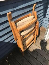 Vintage foldable chair
