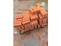 80 Red Bricks £50