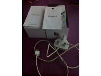 I phone 4 BOX only charging cable only