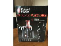 Russell Hobbs - Red/black Juice Extractor - Perfect Condition - used once