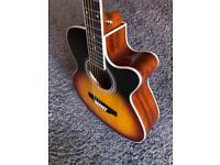 Brand New Semi Acoustic Guitar With case RRP £299