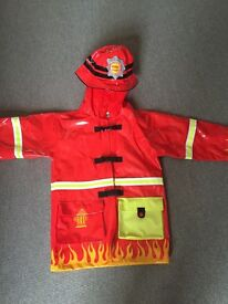 """Fireman Sam"" type plastic raincoat"