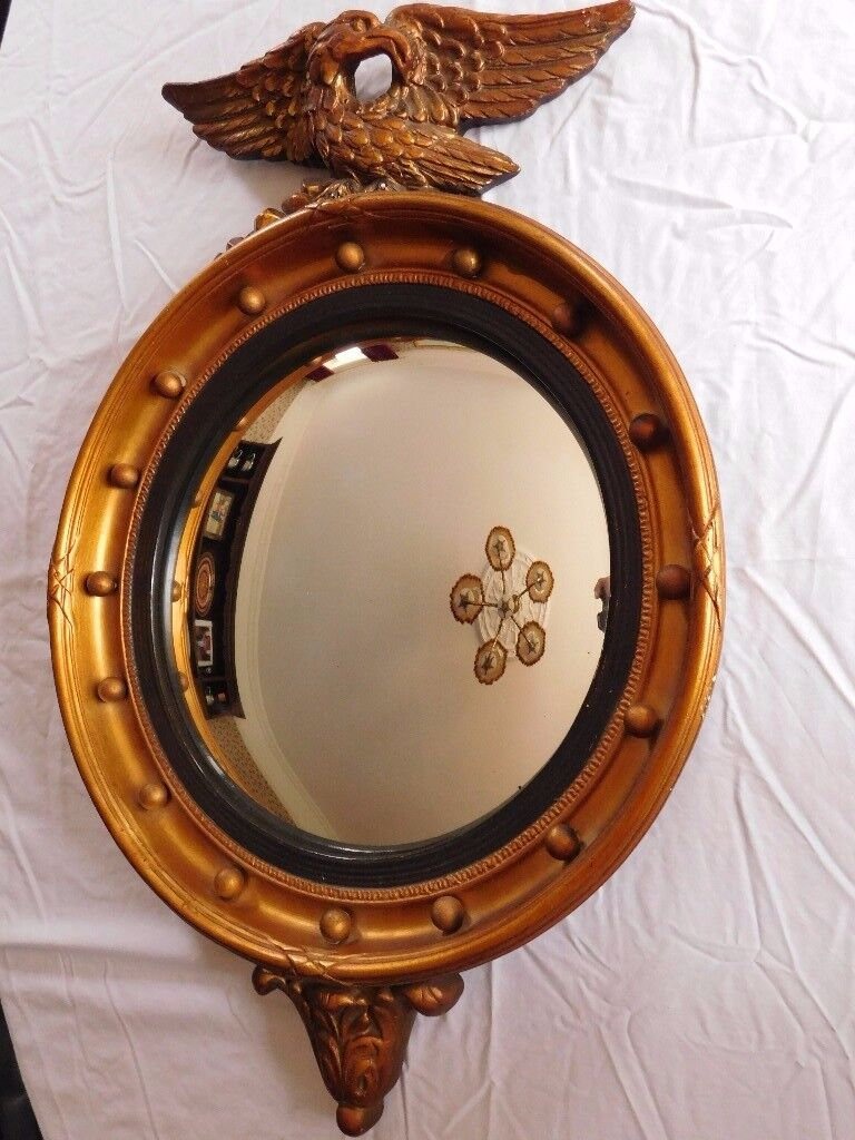 Butler Mirror - Gilt
