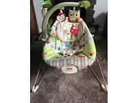 Fisher price calming vibrations baby rocker