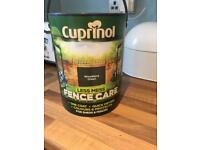 Cuprinol fence care paint