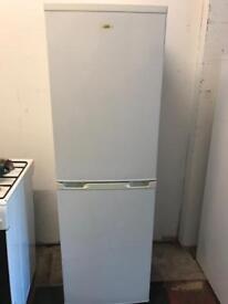 White fridge freezer logik