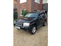 2004 Jeep Grand Cherokee 2.7 CRD Limited XS Auto Diesel