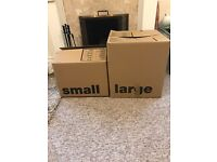Double Wall Cardboard Boxes perfect for moving house - Small & Large Sizes