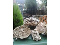 Rocks for large fish tank