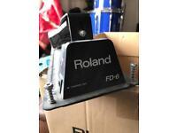 Roland FD-6 hi hat control