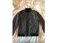 Mens Zara dogtooth bomber jacket. Excellent condition. Size M/L