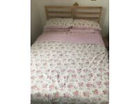 Double bed Ikea- FREE