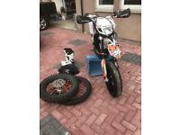 Supermoto KTM EXC-R 450