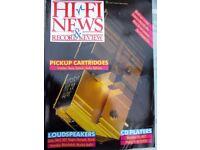 HI-FI REVIEWS OF ROGERS LS6 MERIDIAN PRO MCD MOREL HARBETH YAMAHA B&O REDLINE